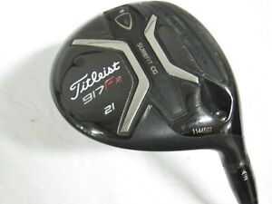 Used RH Titleist 917 F2 21* Fairway Wood Diamana 60  Graphite Shaft Lite L Flex