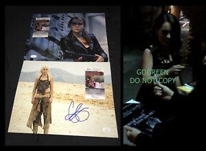 Emilia Clarke signed 11x14 photo Games of Thrones poster Daenerys Targaryen JSA