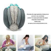 BW#A Baby Breastfeeding Pillows Layered Adjustable Nursing Cushion Infant Pillow