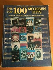 MUSIC BOOK Top 100 Motown Hits by Columbia Pictures Pub. PIANO Vocal CHORDS 1986