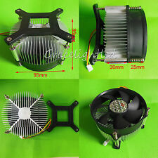 1pc Aluminium Heat Sink Cooling Fan 20W 50W 100W High Power Led Light 95*95*55mm