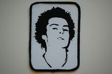 Sid Vicious Sewn Patch (SP1098) Punk Rock Sex Pistols Adicts GBH Varukers