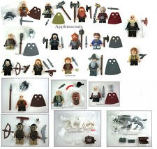 LEGO The Hobbit 2 BILBO +YAZ+WARGS + 13 COMPANY OF DWARVES+ORCS - 21 Minifigures