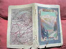 CHAMONIX MONT BLANC GUIDA IN ITALIANO 1913