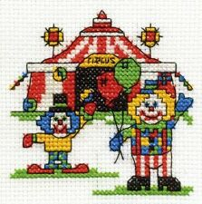 A Trip to the Circus Cross Stitch Kit - Make A Wish - DMC