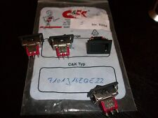 7101J16ZQE22  C&K COMPONENTS.  Switch Rocker ON None ON SPDT