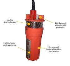 Farm & Ranch 12v/24v Solar DC Submersible Water Well Pump - 200ft Lift / 800lph