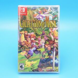 Collection of Mana (Nintendo Switch, 2019) US Physical Edition FF Secret Trials