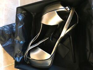 YSL SAINT LAURENT TRIBUTE SANDAL  Shoe heel
