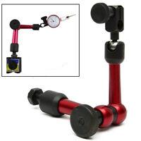 Universal Dial Test Indicator Gauge Magnetic Arm Flexible Base Holder Stand