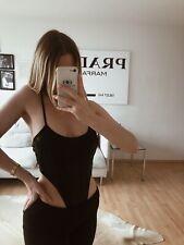 Sexy Body Leder Tanga schwarz Gr.S 36 M 38 Gogo High Cut string Latex Cosplay