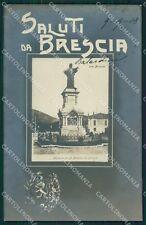 Brescia Città Saluti da Foto cartolina QK6675