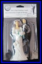 NEW! Wilton **LOVE'S DUET WEDDING COUPLE** Cake Topper!
