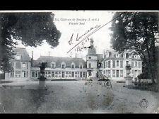 CHATEAU de BAUDRY (37) VASQUES , Façade coté sud en 1904