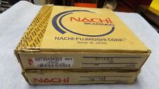 2 Nachi 6218-ZZE Double Shielded C3 90mmx160mmx30mm Deep Groove Ball Bearings