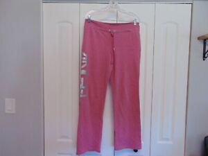 Women's Victoria Secret's Super Model Essentials Pink Sweat Pants Size Medium