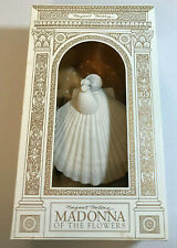Margaret Furlong Madonna Of The Flowers Sea Shell Angel 1997 Christmas Ornament