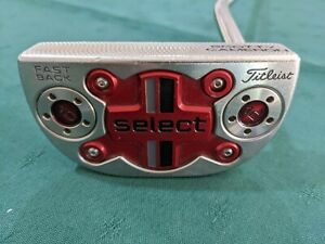 """Scotty Cameron Select Fastback Putter. 35""""."""