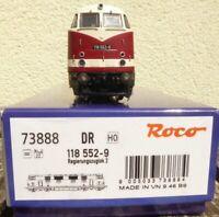 Roco 73888 Diesellok BR 118 552-9 Regierungzuglok der DR Epoche 4 Plux22 DSS,neu