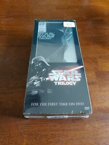 Star Wars Trilogy (BRAND NEW SEALED DVD, 2004, 4-Disc Set, Widescreen Edition)