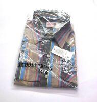 Saddle King Key Vintage NOS Extra Long Tails Long Sleeve Pearl Snap Shirt 16.5
