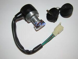 Key Ignition Switch Main Switch for Polaris Youth UTV 2009-2014 RZR 170 Rzr170