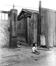 Crying Child Korean War  Reprint Photo 6x5 inch