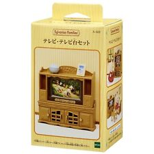 The SYLVANIAN FAMILIES Furniture TV, TV Stand Set calico clitters