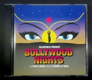 VARIOUS - RAJ & PABLO present BOLLYWOOD NIGHTS the finest music UK CD GUT 2002
