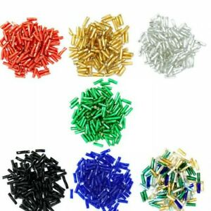 7mm Twisted Glass Bugle Beads  7 Colours