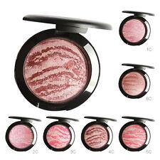 Palette Rouge Fard Joues Cuit Baked Teint Maquillage Visage Contour Makeup Mode