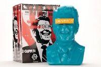 The Gipper Frank Kozik Reagan Ultraviolence Vinyl Art Bust Blue