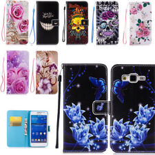 Pocket Wallet Stand Case Magnetic Folding PU Leather Card Slot For Huawei iPhone
