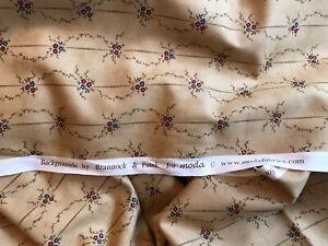 "Brannock And Patek For Moda Fabric ""Backgrounds"" 2 Metre Length"
