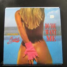 """Lee Marrow Featuring Lipstick - Do You Want Me 12"""" Mint- MIX 395 Italy 1990"""
