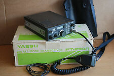 YAESU FT290R 2MTR ALL MODE TRANSCEIVER with Mic Case etc - Boxed
