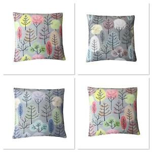 Voyage Lyall Trees Stunning Digital floral print design Decorative cushion cover
