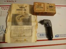 "Older Sears Craftsman #9-1850 90°-Angle-Head for ¼"" & ⅜"" Drills — Free Shipping!"