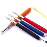 Extendable Pen Telescopic Teaching Pointer Stainless Steel for Presenter Teacher