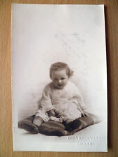 1924 Children Postcard- A 15 MONTH OLD LITTLE KID SITING & LAUGHING