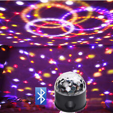 Bluetooth Speaker Party Lights 9 colors 9W DJ Disco Ball Projector Stage Light