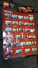lightning mcqueen lego limited edition poster collectors