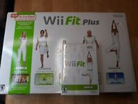 GENUINE NINTENDO WII FIT PLUS BALANCE BOARD AND Wii Fit GAME TESTED WORKING