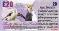 2017 Penguin Series 🐧 ROYAL PENGUIN 🐧 20 Spheniscidae Pounds 🐧 Fantasy Note