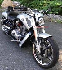 LED Headlight For Harley Davidson VRSCA V-Rod VRod .. DOT Approved ...... CHROME
