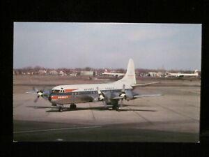 1 of 500! BRANIFF AIRWAYS Lockheed Electra L188 Airplane Vintage UNUSED Postcard