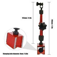 Magnetic Dial Test Indicator Gauge Flexible Base Holder Cont W9A6 J1J3 M5K4