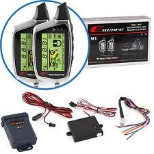 Encore M1 2-way Paging Motorcycle Alarm/Security System w/Radar & Shock Sensors