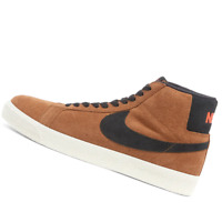 NIKE MENS Shoes SB Blazer Mid - Light British Tan & Black - OW-864349-202