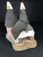 David Winter Cottages. Very Rare Early Piece - Double Oast- Vintage 1980